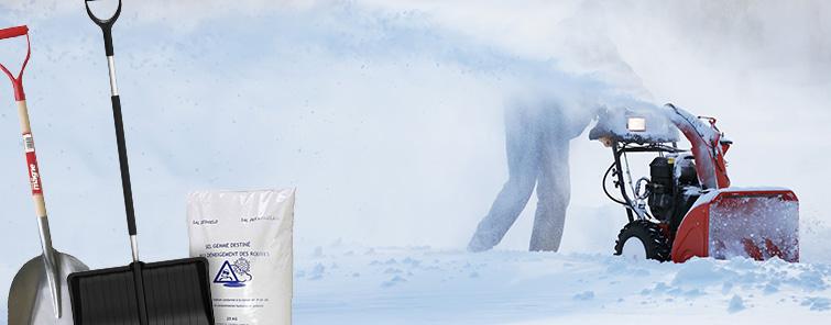 Snøredskap och vinterprodukter