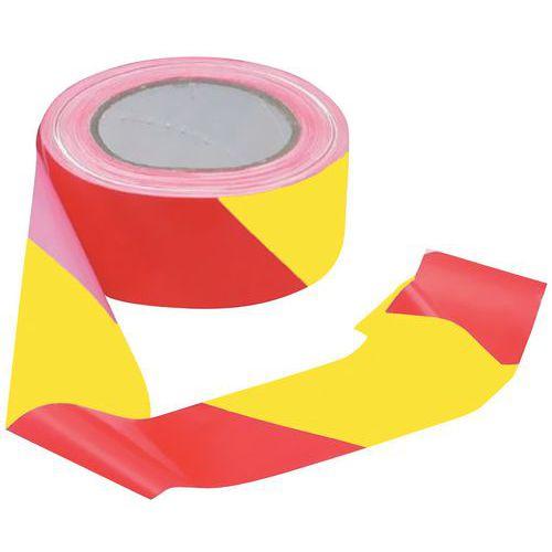 Avsperringsbånd rød gul
