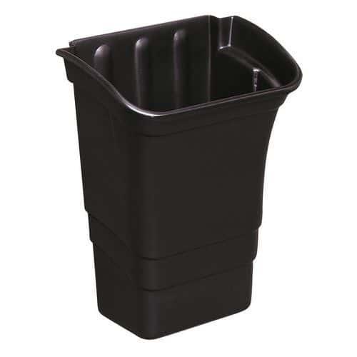 Søppelkasse for Plastvogn med 3 hyller