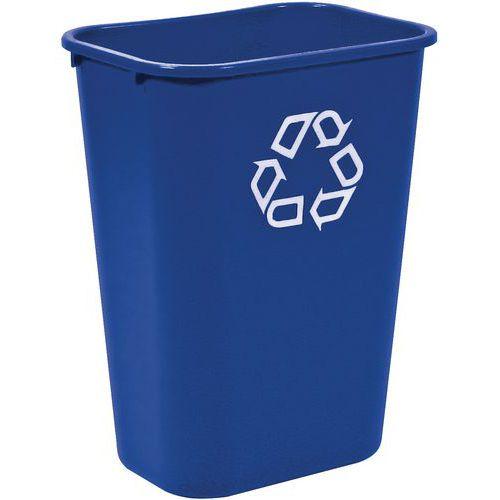Rubbermaid rektangulær søppelbøtte – 26 og 39 L