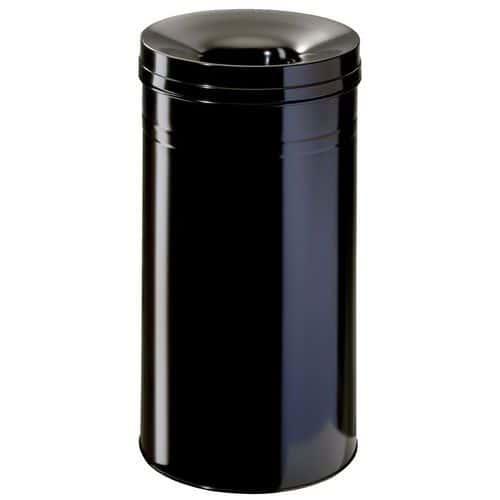 Brannsikker søppelbøtte av metall – 60 L