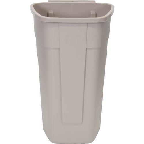 Firkantet beholder uten lokk for selektiv sortering – ergonomisk håndtak – 100 L