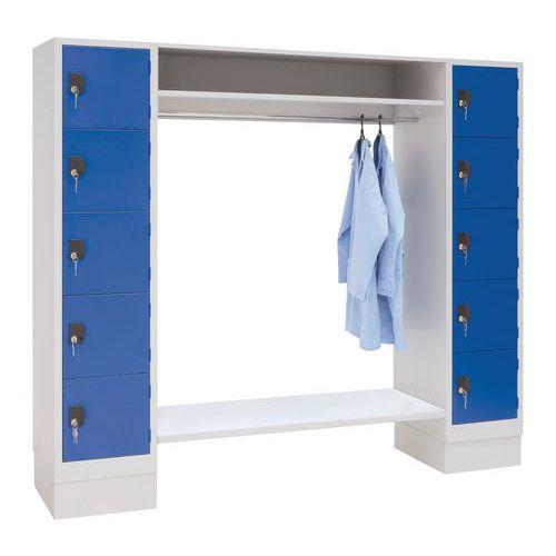 Småromskap garderobe 1350 10 rom