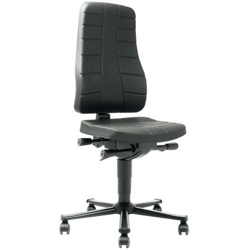 Arbeidsstol All-in-one 9643 Polyuretan