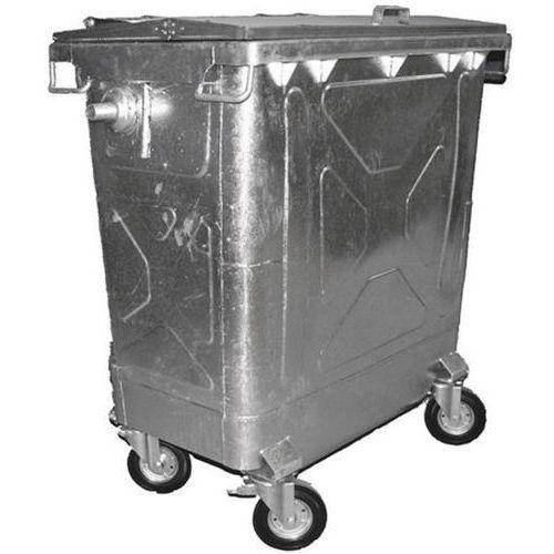 Avfallsbeholdere galvanisert 770 L