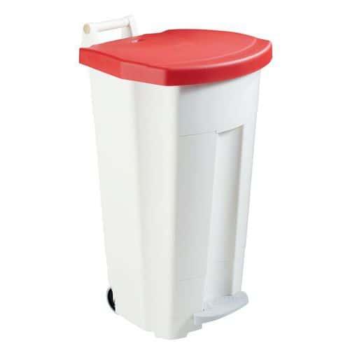Søppeldunk med pedal 90 L