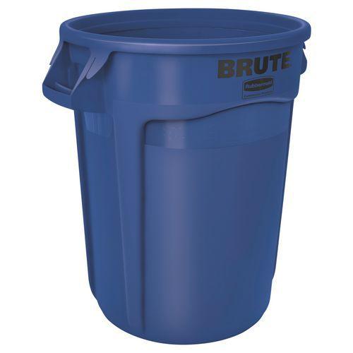 Rund Brute-beholder – blå – 121 L