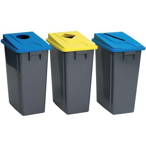 Avfallsbeholdere med lokk Manutan
