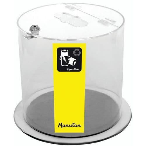 Oppsamlingskar batteri Manutan