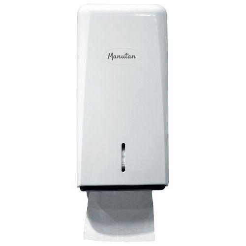 Dispenser toalettpapir ark Manutan