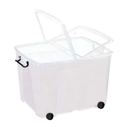 Plastbokser CEP Strata med bøyle og hjul