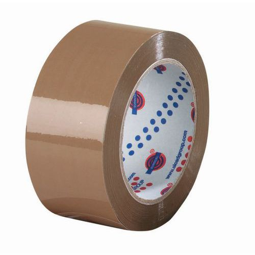Tape PVC brun 25 mm