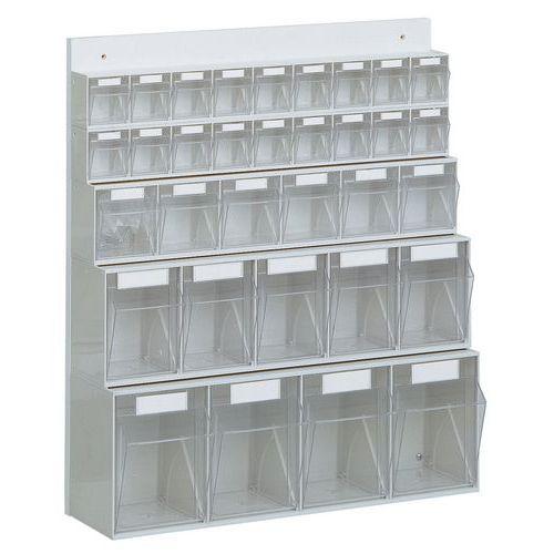 Oppbevaring for smådeler, Komplett system
