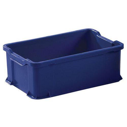 Transportbakk blå