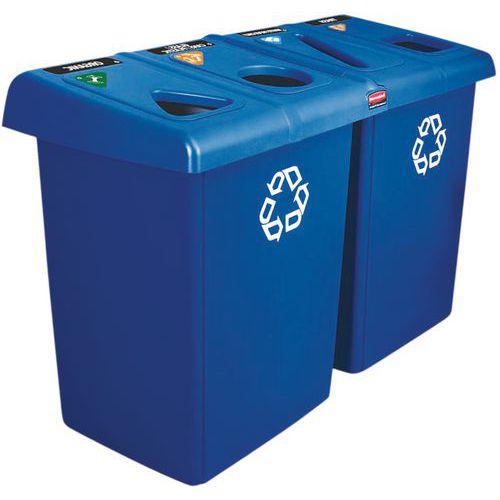 Rubbermaid-avfallsbeholder – 174 og 348 L