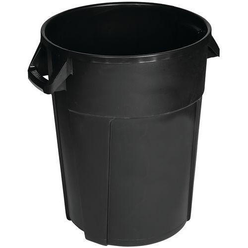 Plasttønne svart Manutan