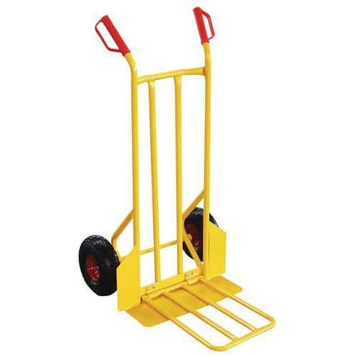 Magasintralle 250 kg, luftgummihjul
