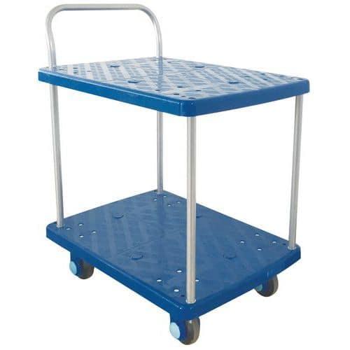 Trillebord av plast Manutan 150 kg