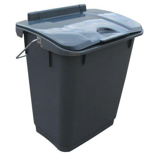 Avfallsbøtte med lokk 35 l