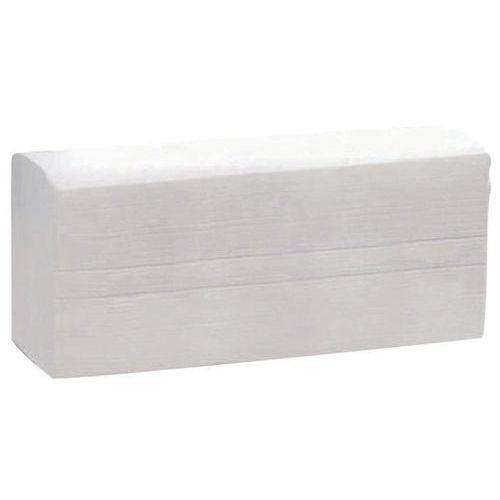 Papirhåndkle Z-brettede 2 lag Manutan