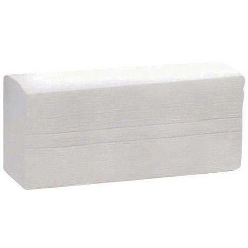 Papirhåndkle Z-brettede 1 lag Manutan