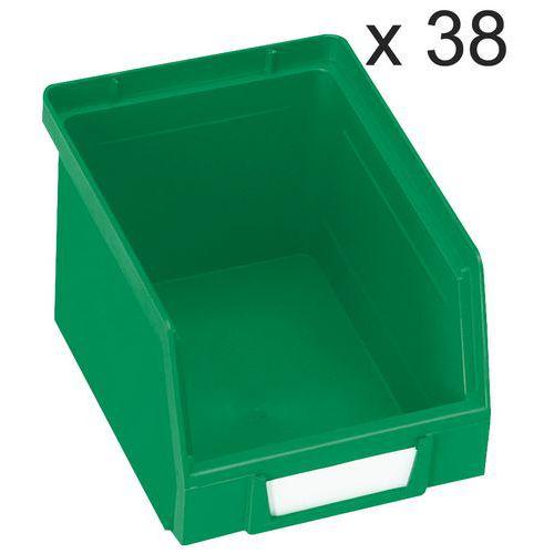 Lagerboks 3,5 l, 38 st