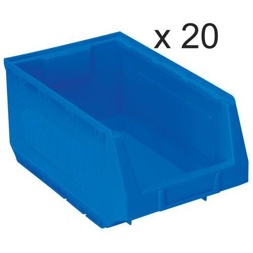Lagerboks 10 l, 20 st
