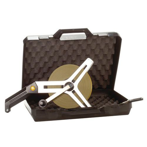 Målebånd metall Top Pro veske