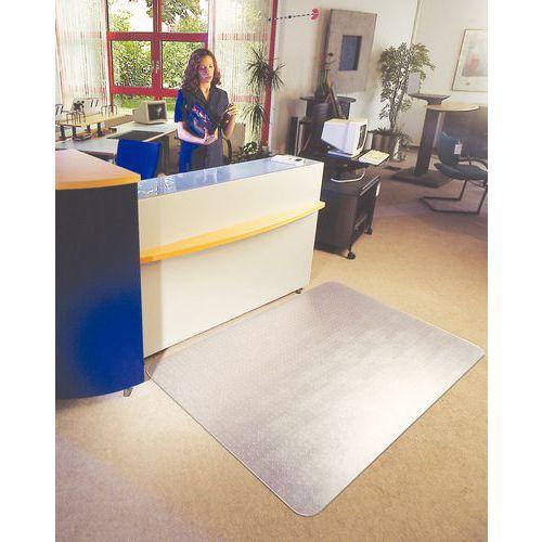 Gulvebeskyttelse for harde gulv/matte, 120x134-150