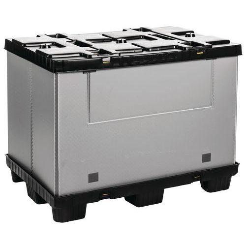 Palleboks Mega Pack 1200x800, med sideåpning