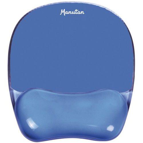 Musematte gel med håndleddsstøtte Manutan