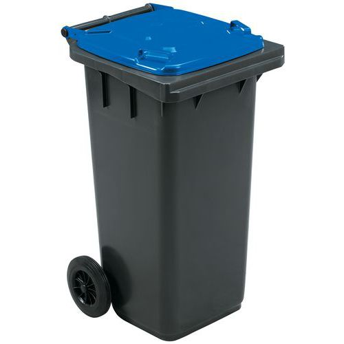 Avfallsbeholder Manutan 120 l, inkl lokk