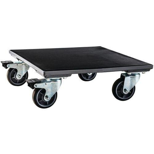 Vogn med matte 500 kg Manutan