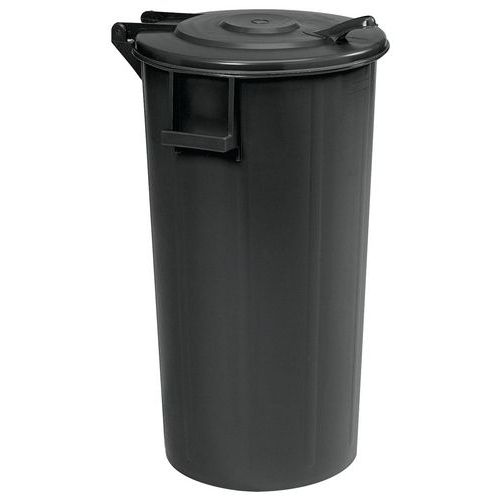 Søppelbøtte med lokk – 60 og 100l – Manutan