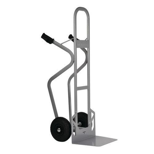Ståltralle–pneumatiske hjul–kapasitet 350kg