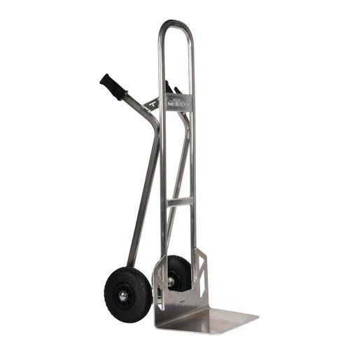 Aluminiumstralle–pneumatiske hjul–kapasitet 350kg