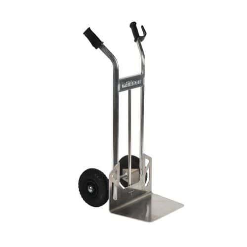 Aluminiumstralle–pneumatiske hjul–kapasitet 200kg