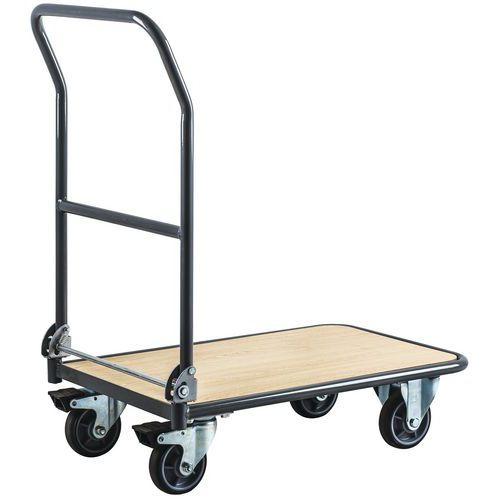 Vogne med nedfellbar rygg 250 kg -  Manutan
