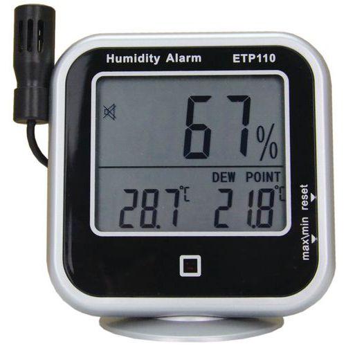 Digital temperatur- og luftfuktighetsmåler Manutan