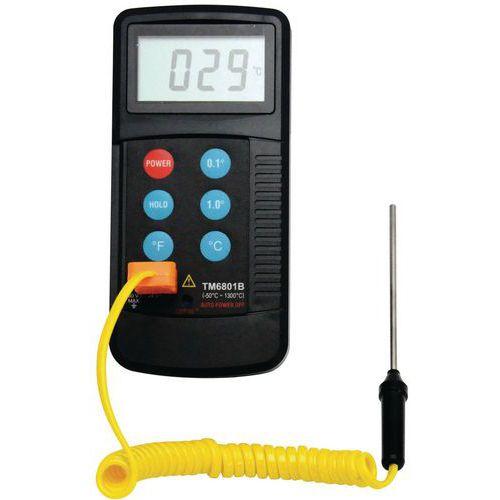 Digitalt termometer med sensor