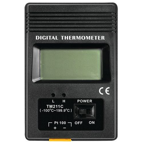 Digitalt termometer Manutan