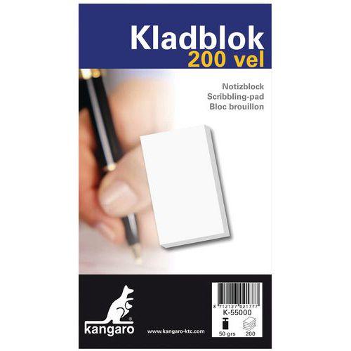 Notatblokk 200 sider