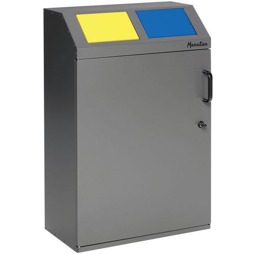 Selektiv sorteringsstasjon – ergonomisk – 100 til 200l – Manutan
