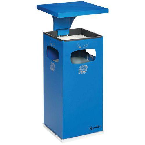38L askebeger og søppelkasse for innendørs og utendørs bruk