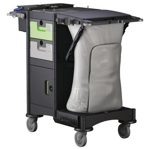 Rengjøringsvogn for impregnering av mopp – Brix PT – Kompakt – Manutan