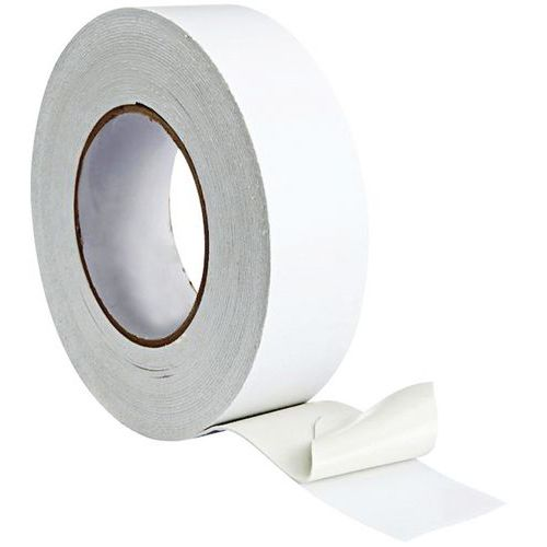 Tosidig skumtape 5m – hvit – Manutan