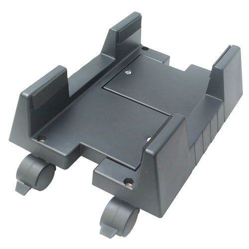 Stativ for PC-kasse med hjul – Manutan