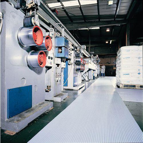 Plastmatte PVC ribbet