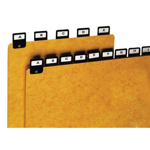Register alfabet A4-A7, 25 st
