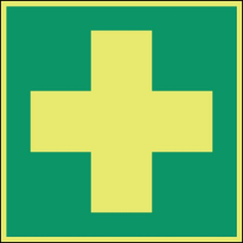 Varselskilt Førstehjelp